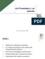 Objeto y metodo de la economía (1)