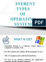 DIFFERENT TYPES OF OPERATING SYSTEM VII