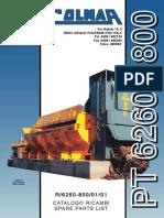 Каталог Colmar PT6260-800R