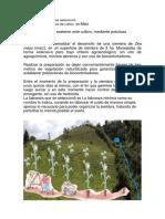 Propuesta para siembra de cultivo  de Maíz