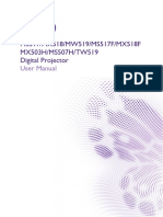 BenQ MX518 Projector UM_GB.pdf
