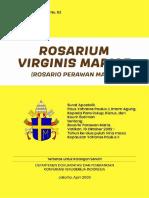 Seri Dokumen Gerejawi No 63 Rosarium Virginis Mariae (Rosarium Perawan Maria)