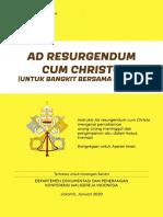 Seri Dokumen Gerejawi Ad Resurgendum Cum Christo