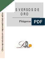 Pitagoras - Los Versos de Oro