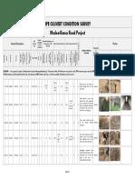 11.1 - Pipe culvert condition survey