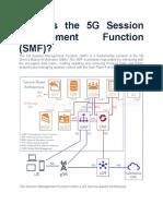 5G Session Management Function