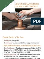 IPL case on Maintenance