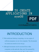 How to Create Applications in Eyeos