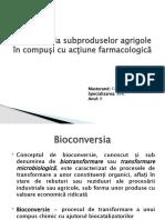 8.Bioconversia Subproduselor Agricole
