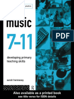 Music 7-11 Developing Primary Teaching Skills (Curriculum in Primary Practice) by Sarah Hennessy (z-lib.org)