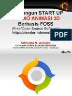 Slide Membangun Studio Animasi Berbasis Foss