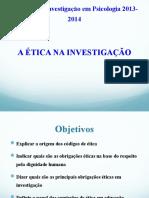 Etica na investigacao