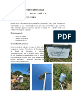 Reporte de visita a una estacion metereologica en agronomia
