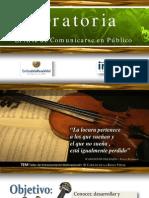 Oratoria El Arte de Comunicarse en Público - Carlos de la Rosa Vidal
