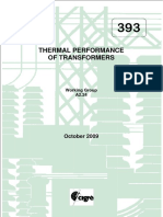 393 Thermal Performance of Transformers