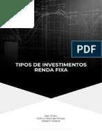 Apostila - Tipos de Investimentos - Renda Fixa