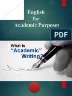 PPT ACADEMIC WRITING