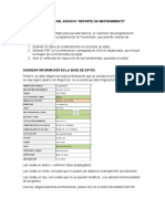INSTRUCTIVO DE USO REPORTE MANTENIMIENTO
