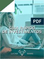 Guia rapido de investimentos - Lucas Trade
