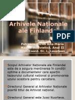 arhivele nationale ale Finlandei