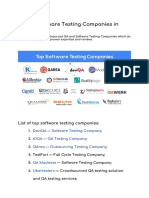Top Software Testing Companies in 2020 by Kate Osad