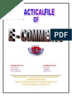 e commerce practical file