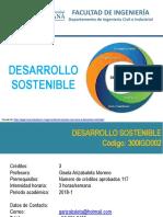 Clase 1 - Presentación  del Curso de Desarrollo Sostenible