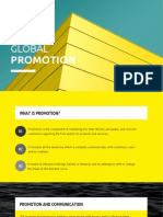 The Global Promotion Mix