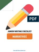 NarrativeWritingChecklists