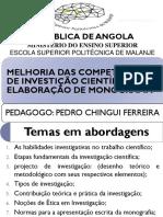 ESTÁGIO DE PSIC. DE EDUCAÇÃO