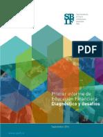 PRIMER INFORME EDUCACIÓN FINANCIERA CHILE