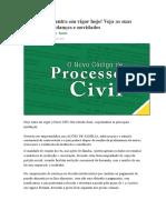 NOVO CPC-Principais Mudanças