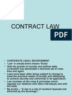 CONTRACT LAW 1872