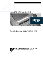 Motoman MRC Troubleshooting