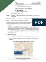 INFORME TECNICO RESPECTO DE LA DETERMINACION DE CANTIDAD DE AREAS DE ESTACIONAMIENTO -HOSPITAL SOLIDARIDAD
