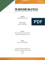 Unidad 5 Taller Práctico - Álgebra Lineal