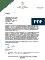 Letter Gov. Whitmer to Pres. Trump Re 502(f)