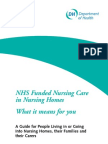 Funded Nursing Care