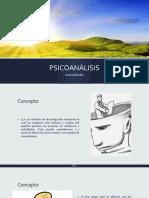 RESUMEN DE LA TERAPIA DEL PSICOANÁLISIS
