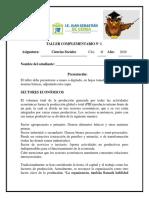 1. Ciencias Sociales CLEI 4F