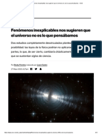 Fenómenos inexplicables nos sugieren que el universo no es lo que pensábamos - VICE