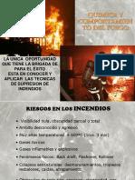 QUIMICA Y COMPORTAMIENTO DEL FUEGO