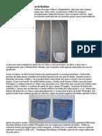 Bolsas De Jeans Recicladas