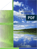 Climate Literacy - The Essential Principles of Climate Sciences