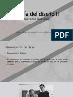 Metodología del diseño II-Clase 1;