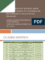 CONVENIOS OIT RATIFICADOS CON COLOMBIA (1)