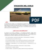 DESERTIFICACIÓN DEL SUELO