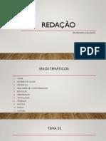 DISCUSSÃO TEMA 03
