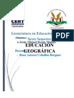 Representación geografica