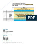 Continuous Assessment Restructuring Assessment HTH587